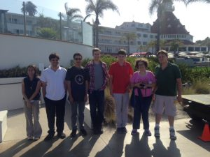 photo of students on field trip