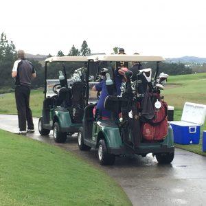photo of golf carts