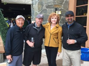 photo of people at golf outing